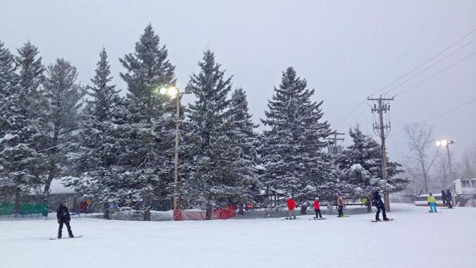 esquiar canada invierno